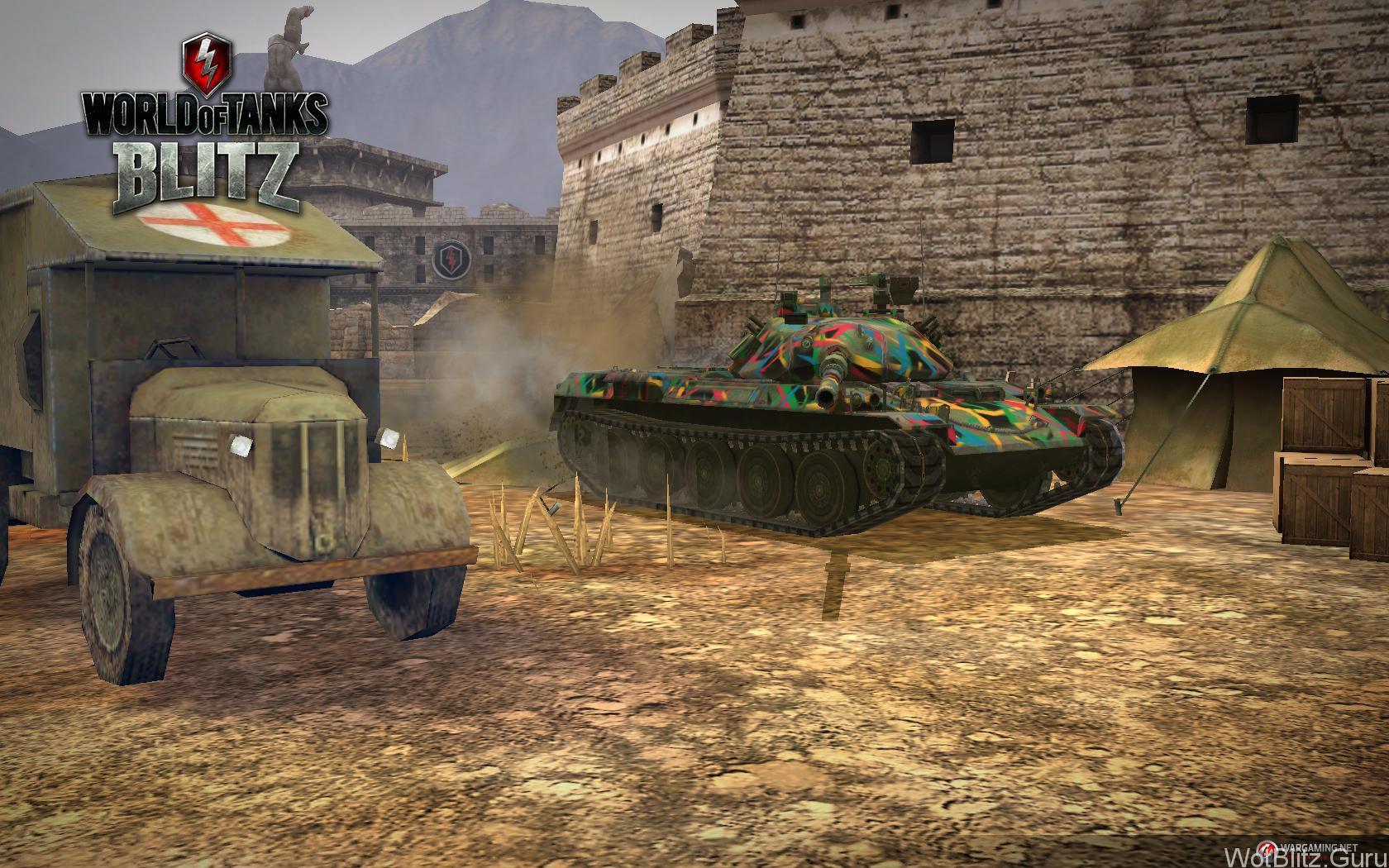World of Tanks Blitz: игра