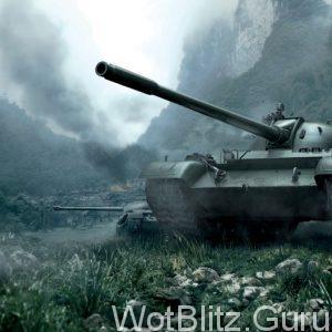Китайский танк type 59 в бою