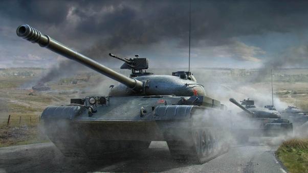 Объект 140 в бою