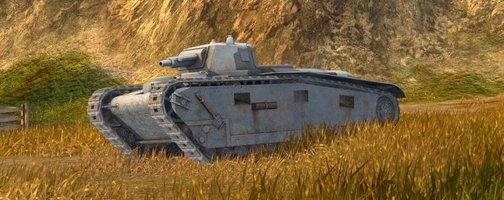 танк Krupp в вот