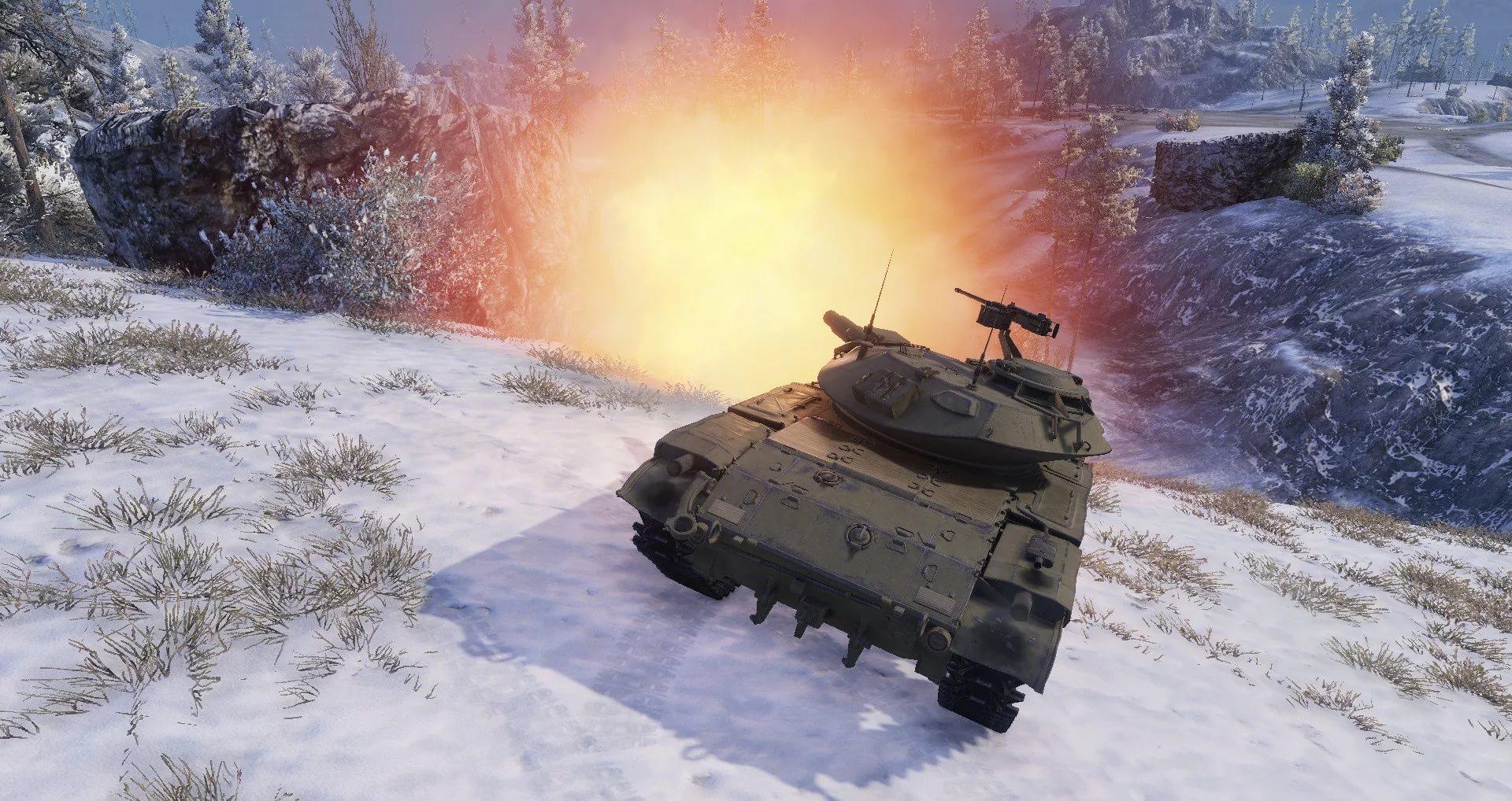 Т49 - легкий и быстрый танк