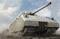 Немецкий танк Maus в бою: уничтожаем противника под корень
