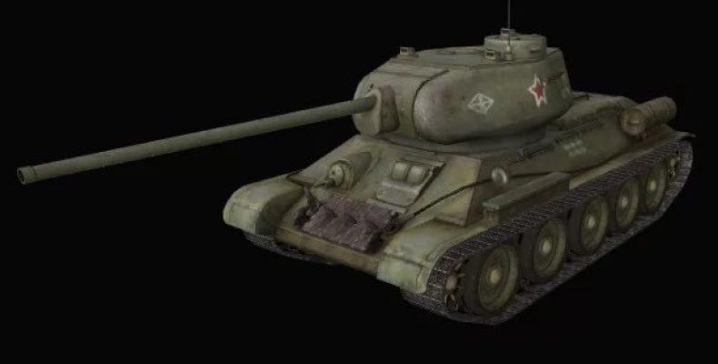 Видео обзор советского Т 34: выбираем тактику и пушку